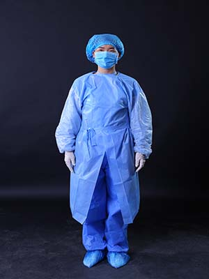 disposable gown for hospital surgery