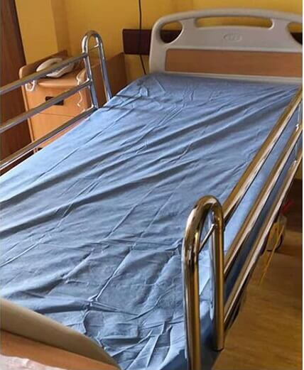 disposable cover sheet non-woven for hospital bed mattress protect