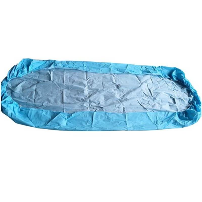 PE+Viscose Waterproof Medical Bed Cover