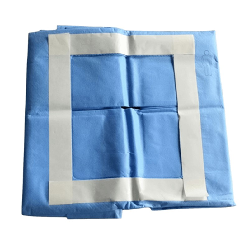 surgical drapes for laparoscopy procedure