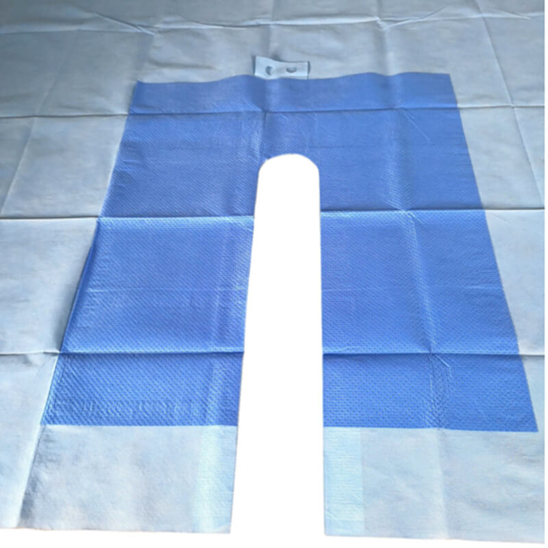 ent medical drape pack for surgical procedure