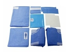 split drape pack for hospital surgery