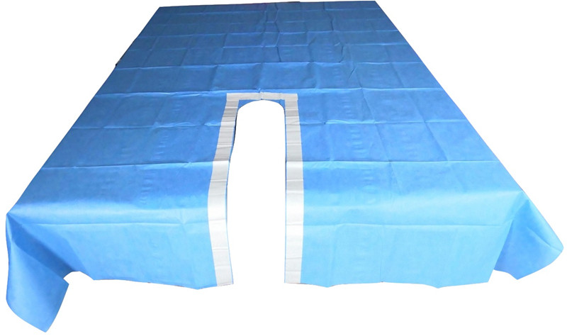 split drape surgical using for hospital surgery