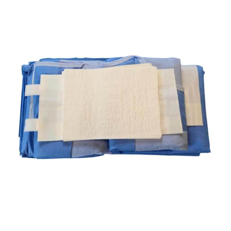 laparoscopy drape pack for surgery room