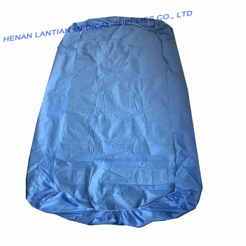 PP Nonwoven Disposable Bed Cover with PE  film