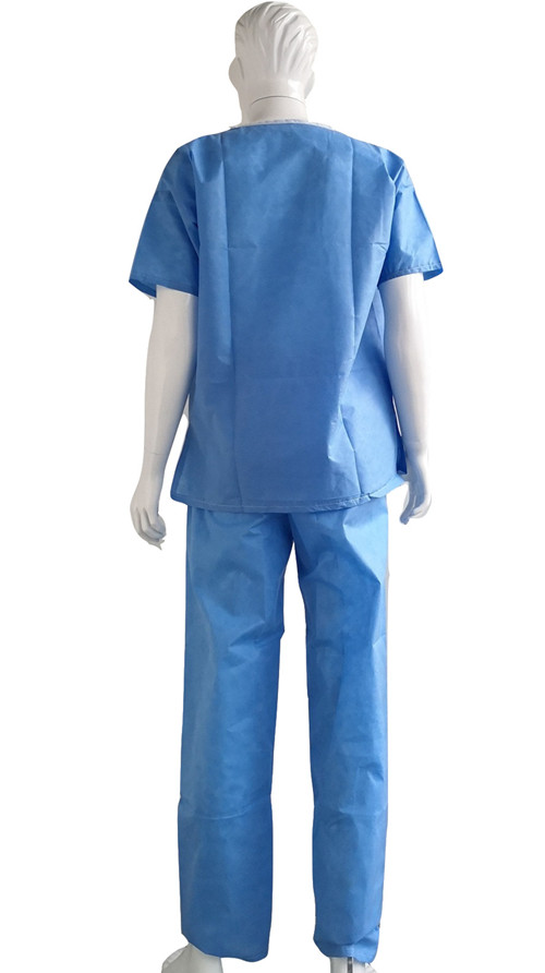 patient gown disposable for hospital uses
