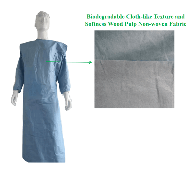 biodegradable disposable hospital gowns manufacturer