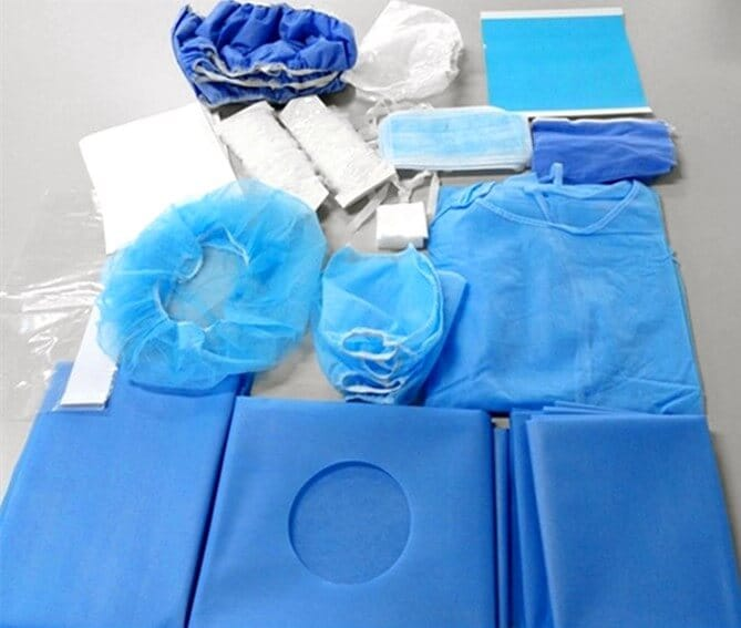 oral surgery drape pack