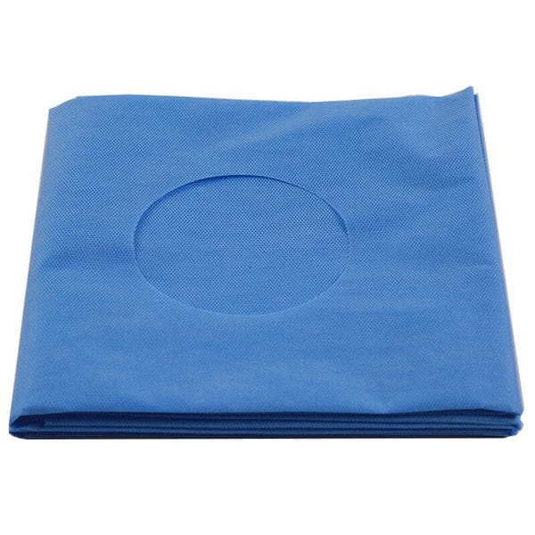 fenestrated sterile drapes disposable using in the hospital surgery