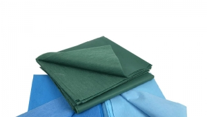 PE+Viscose Waterproof Medical Bed Sheet