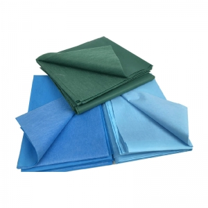 PE+Viscose Waterproof Medical Bed Sheet