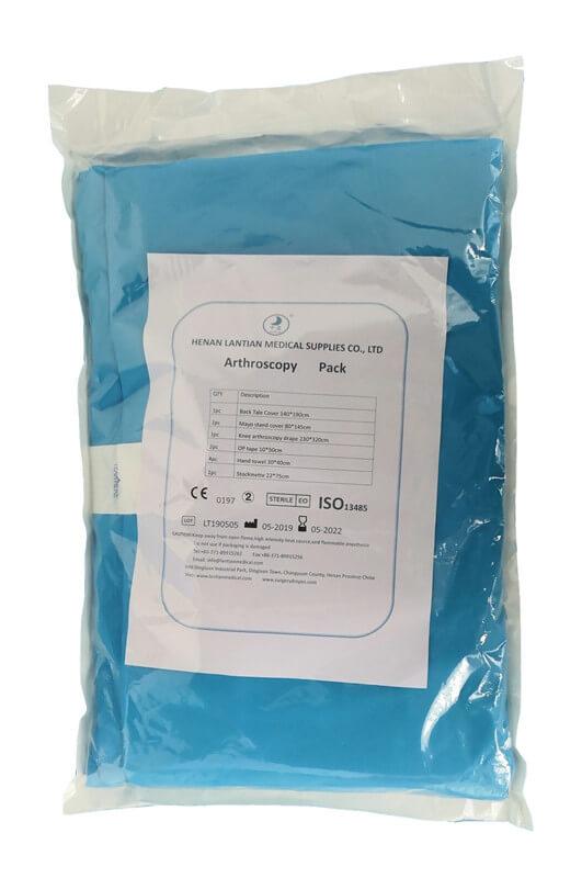 Knee Arthroscopy Pack for knee procedure