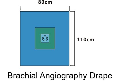 brachial angiography drape-lantian medical