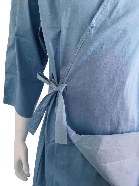 hospital patient gown biodegradable for patients