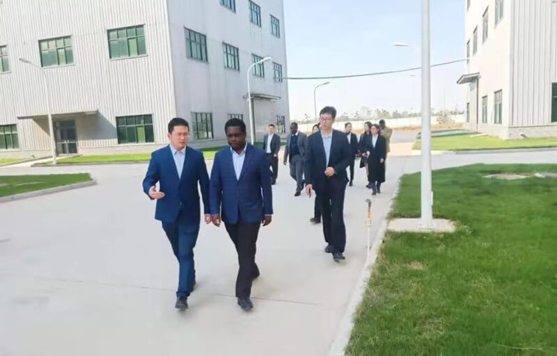 Ambassador of Ghana Visits the Lantian Medical
