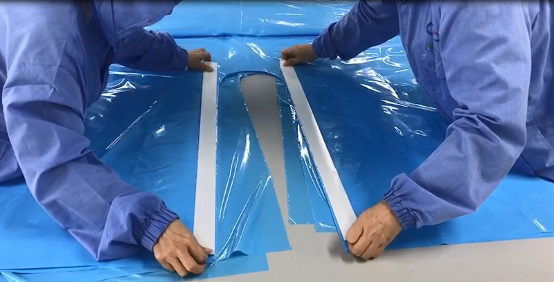 disposable surgical drapes and gowns