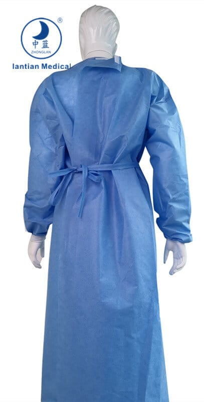 sms disposable hospital gown
