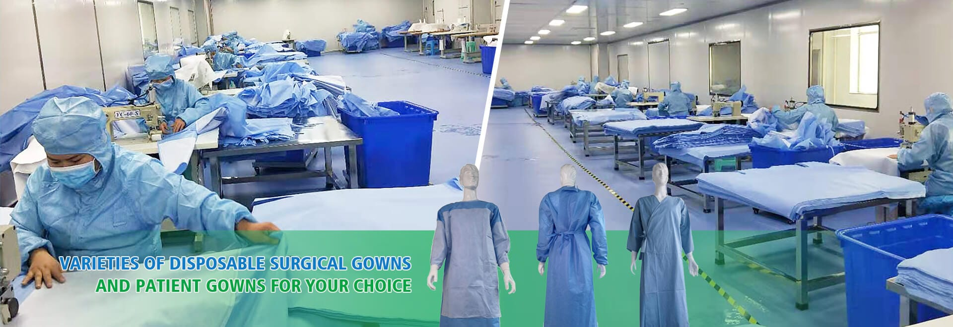 Lantian Medical is a professional manufacturer of surgical drapes and gowns, surgical packs, hospital gown and hospital bed sheet, which have received high prai