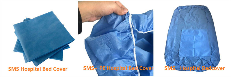 hospital bed cover and hospital bed sheet