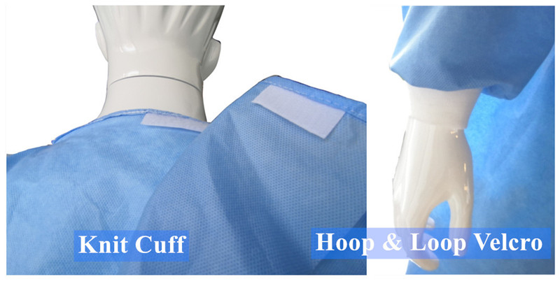 3 anti surgical gown with CE and ISO