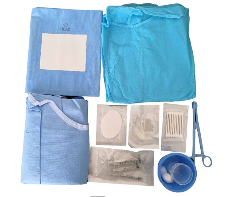single use ophthalmic drape pack For Ophthalmic Procedures