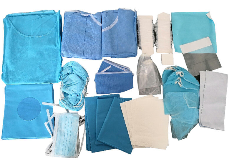 Oral Surgery Drape Pack Using For Dental Implant Surgery