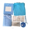 disposable ophthalmic pack nonwoven