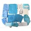 oral surgery drape pack for dental procedure