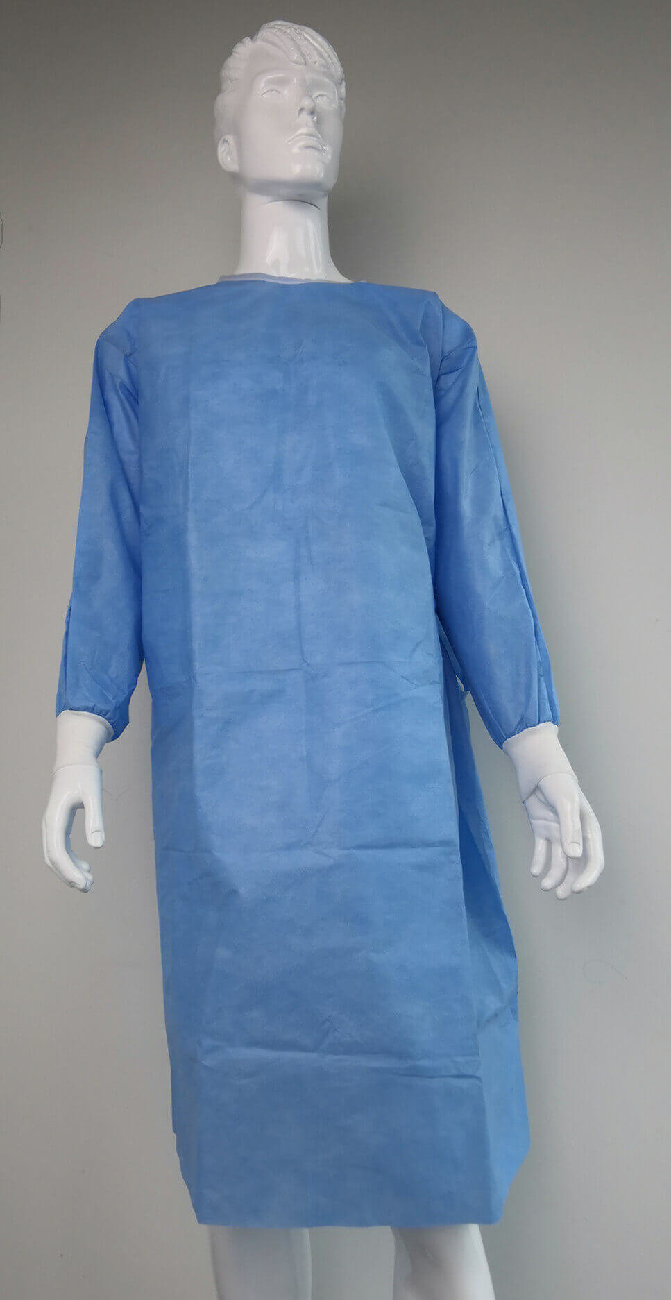 reinforced surgical gown for hospital surgery