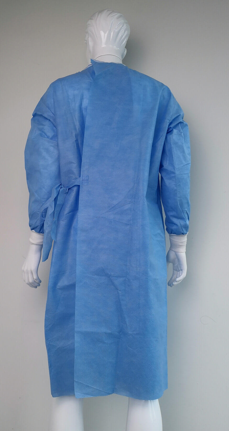 surgical gown reinforced with ce and iso certificate