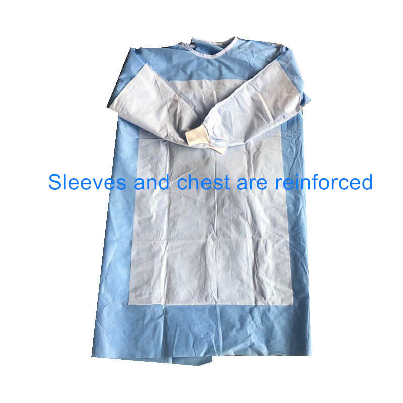 hospital reforced gowns for sale
