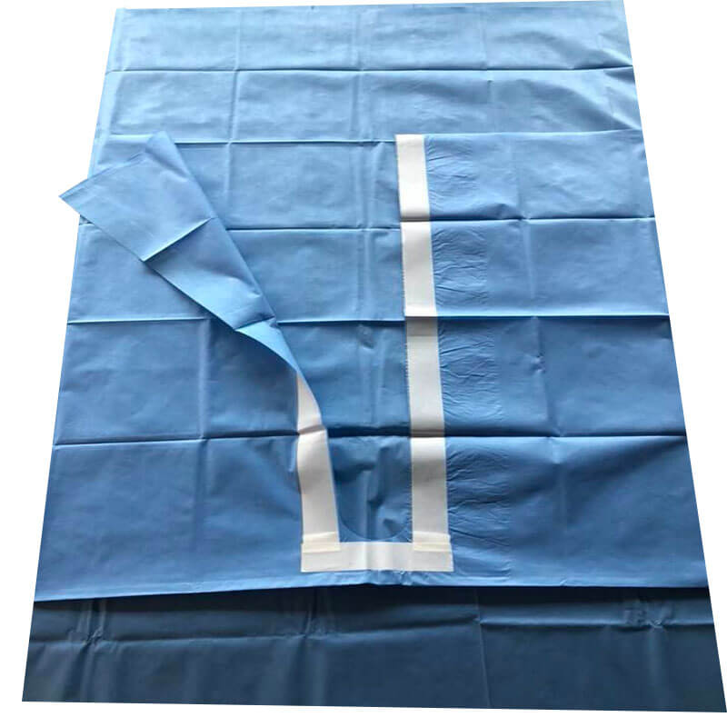 disposable u drape for hospital procedure