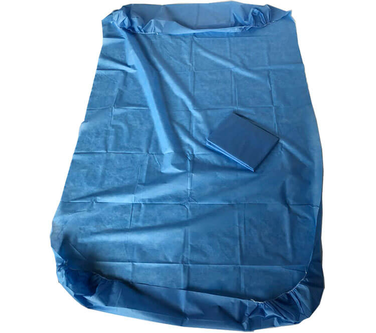 disposable bed cover for patients room
