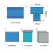 Lithotomy pack