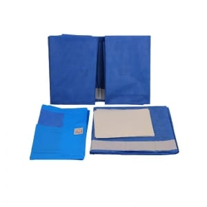Split Drape Surgical Pack